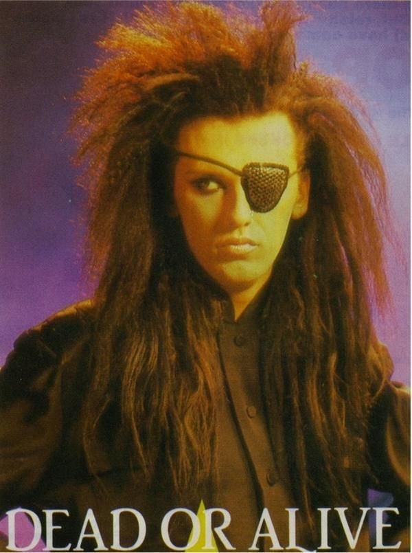 1980's Dead or Alive front man Pete Burns