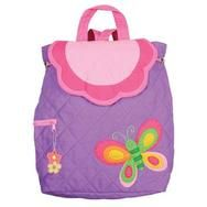 Personalized Butterfly Stephen Joseph #kids backpack in the newest purple color way  makes every little girl happy . Fill in with her favorite things and she is off to grandmas , a play date or nursery school. Starting at $23.95 Personalize at www.namelynewborns.com