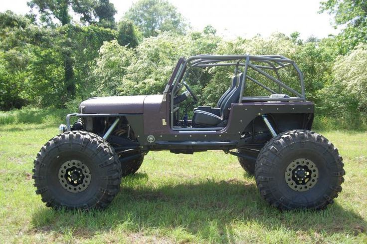 Tj Rock Crawler : Jeep rock crawler pirate and off road