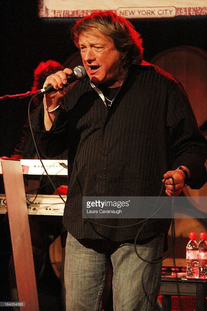 Lou Gramm performs at City Winery on March 22, 2013 in New York City.