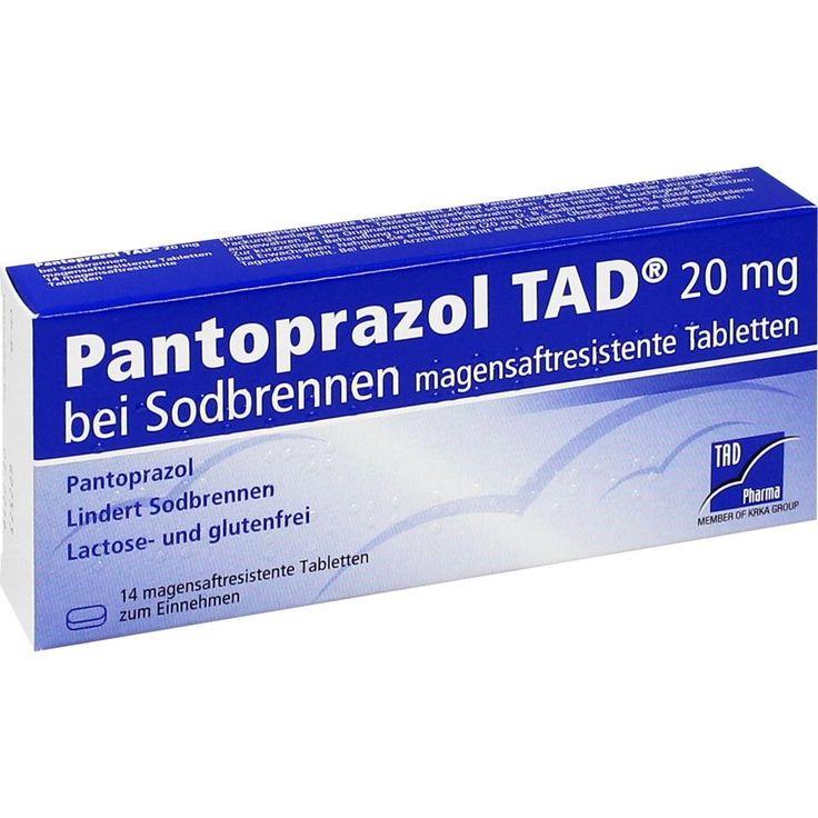 PANTOPRAZOL TAD 20mg magensaftres. Tabletten bei Sodbrennen:   Packungsinhalt: 14 St Tabletten magensaftresistent PZN: 05522708…