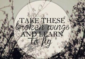 Beatles blackbird lyric quote via www.Facebook.com/WildWickedWomen