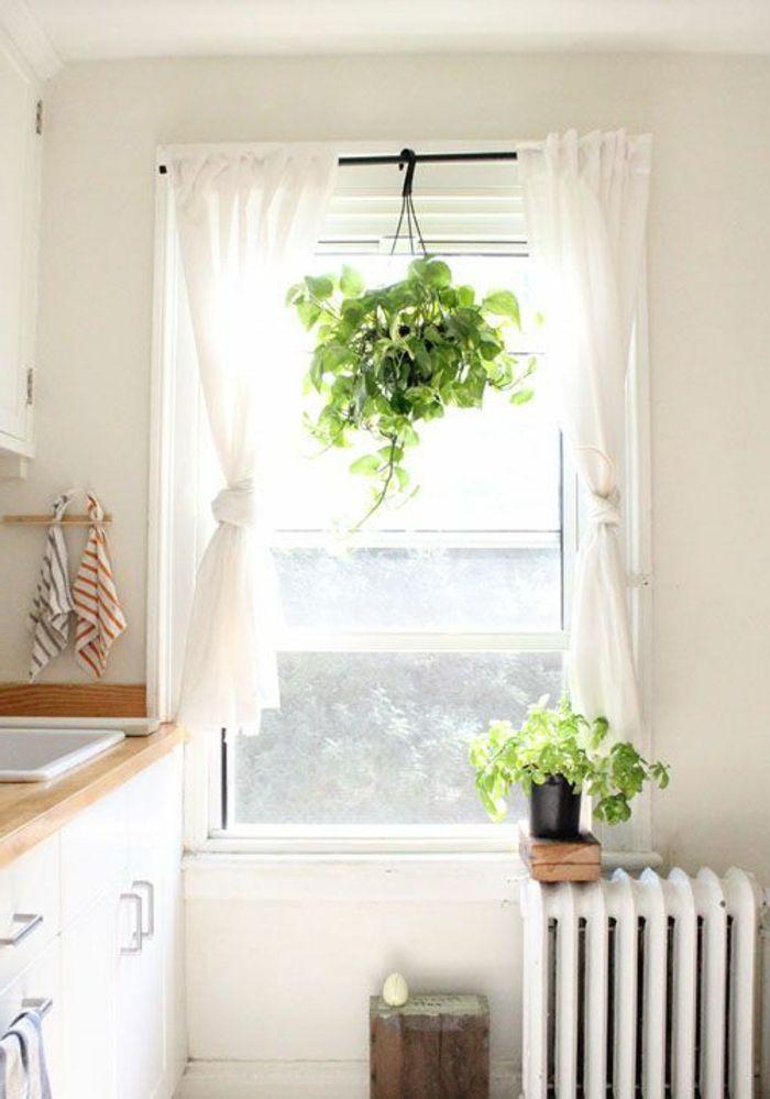 les 25 meilleures id es concernant rideaux cuisine sur pinterest rideaux de fen tre pour la. Black Bedroom Furniture Sets. Home Design Ideas