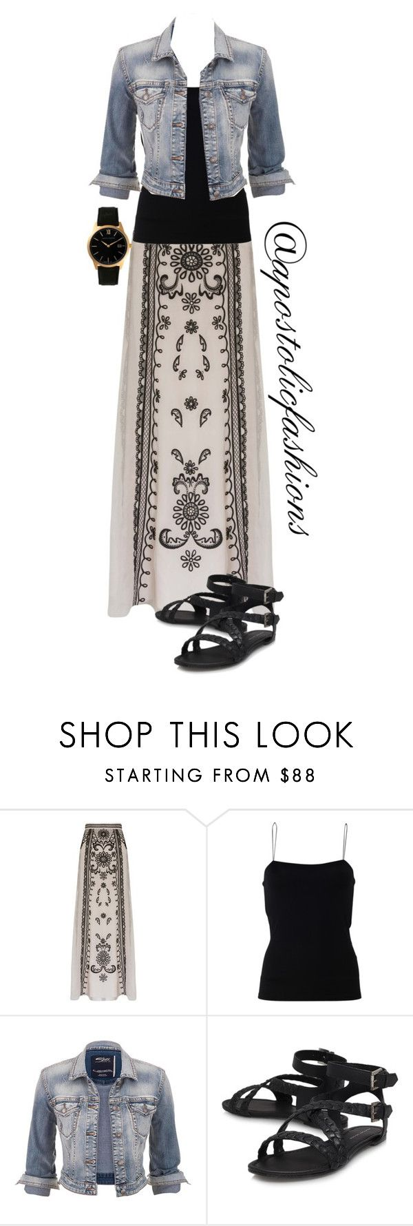 """""""Apostolic Fashions #1313"""" by apostolicfashions on Polyvore featuring Temperley London, T By Alexander Wang, maurices and Larsson & Jennings"""