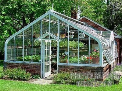 Greenhouse, Smokehouse, Root Cellar, and Brick Oven... yes please! #greenhouseideas