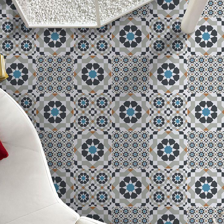 Tatli Geometric Decor Style 1 Harika Tiles 300x300x7.5mm Tiles