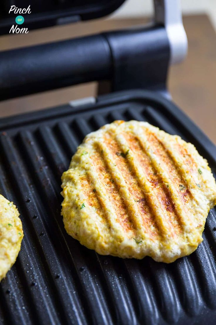 Cooked Burgers - Syn Free Tikka Turkey Burgers | Slimming World