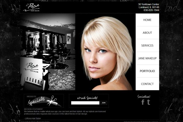 Website, Hair and Hair salons on Pinterest