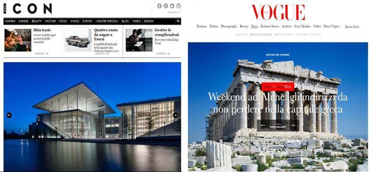 Italian Media Make a Case for Athens City Break.