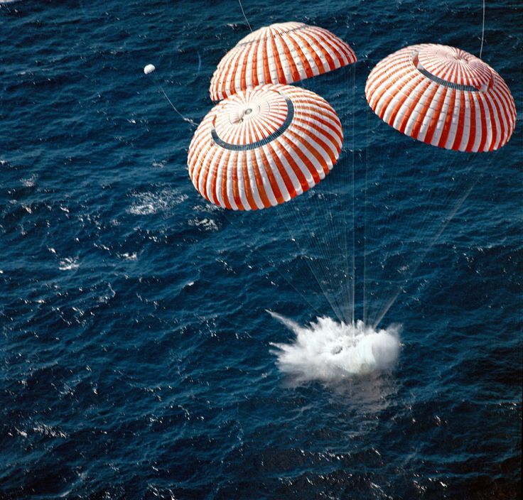 SPLASHDOWN!! July 24th, 1969 The Apollo 11 Crew Returns Safely to Earth. Welcome Home, gentlemen.