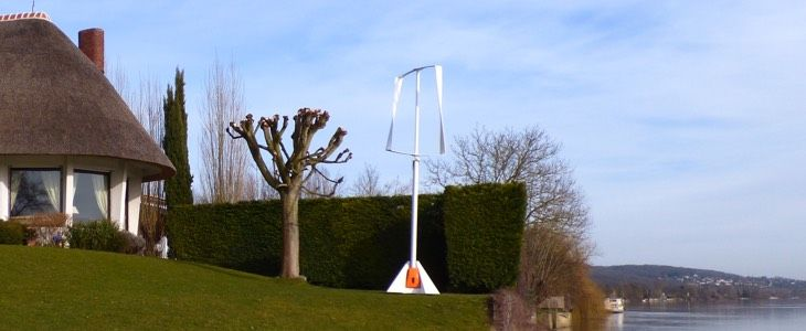Wind turbine for particular
