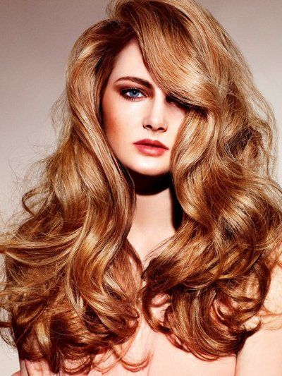 Pictures : Fall Hairstyle Ideas: New Haircuts and Colors You'll Love! - Strawberry Gold Hair Color