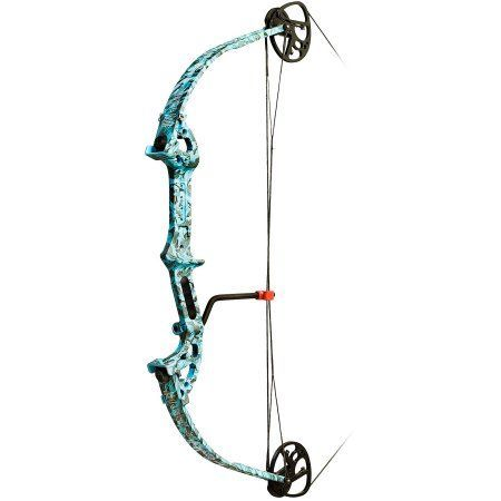 PSE Discovery Bowfishing Bow, 29lb, Reaper H2O, Blue