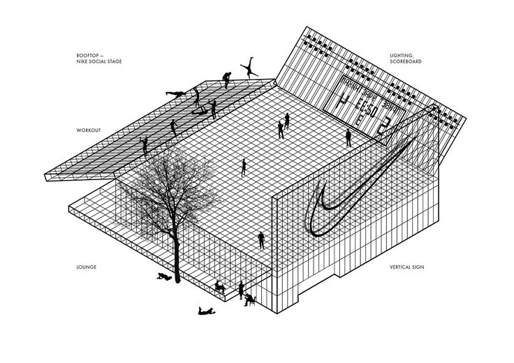 Gallery of Kosmos Architects Wins Competition for Landmark Nike Sports Park in Moscow - 8