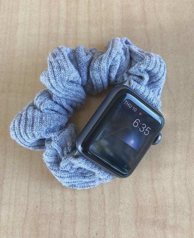 Scrunchie Apple Watch Band Apple watch bands fashion