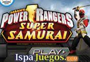 Power Rangers Super Samurai: Los Power Rangers están listo para Defender la Ciudad, Varios ganster quieren dominar la ciudad, pero tu tienes que parar su expansión eliminando a todos ellos, con tu espada de samurai demuestra tus habilidades