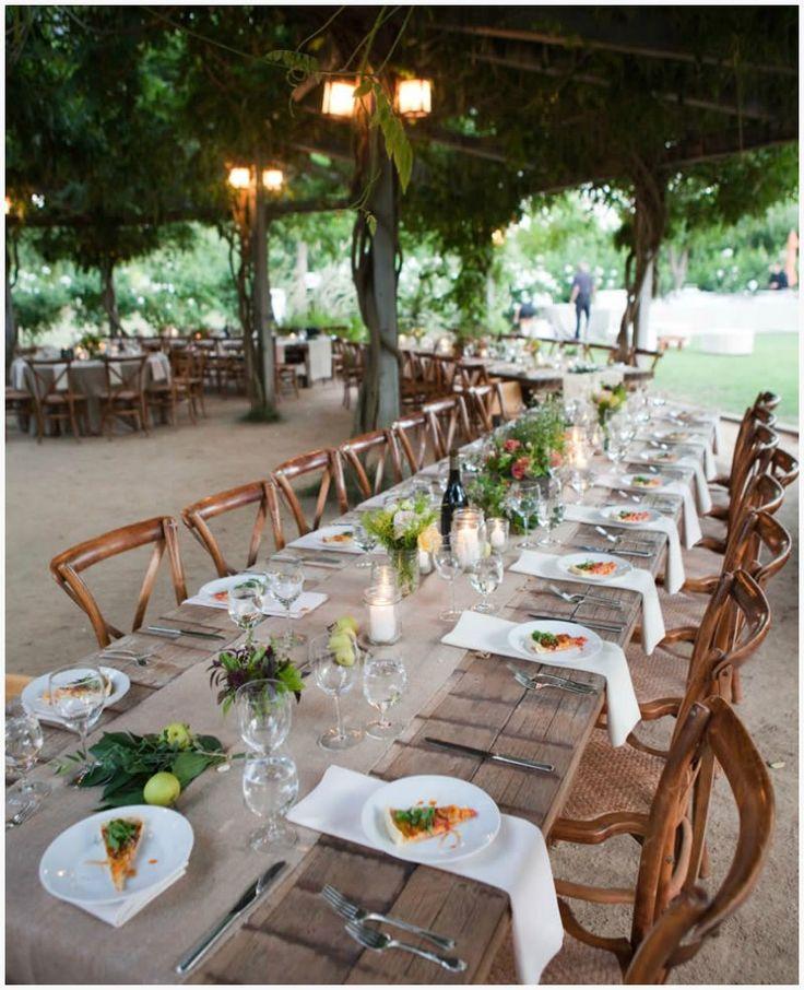 farm to table wedding reception california - Farmhouse Restaurant Ideas