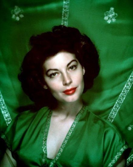 Ava Gardner.  She reminds me of my mom a few years ago .. well this is how I remember her in my head. :)