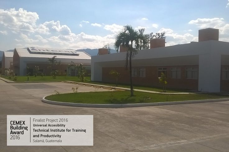 "✨ 👍 Finaliste #CEMEXBuildingAward2016 : ""Technical Institute for Training and Productivity"" à #Salama au #Guatemala (Ing. David Lepe Cervantes). [Image : © Departamento de Diseño e Infraestructura del Instituto Técnico de Capacitación y Productividad]. 👍 ✨   •••••••••••••••••••••••••••••••••••••  #maison #rénovation #décoration #architecture #jardin #habitat #réaménagement #gravier #grave #BTP #industrie #Travaux #design #Construction #granulats‬ #bétons‬ #bricolage #amazing"