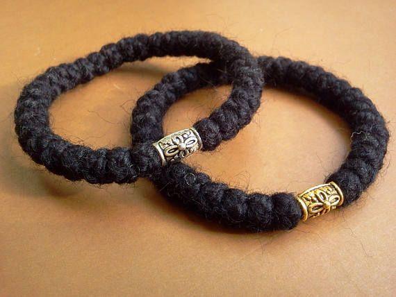 wool 33knot russian/greek handmade Orthodox chotki, komboskini, prayer rope, rosary, black, bracelet blessed