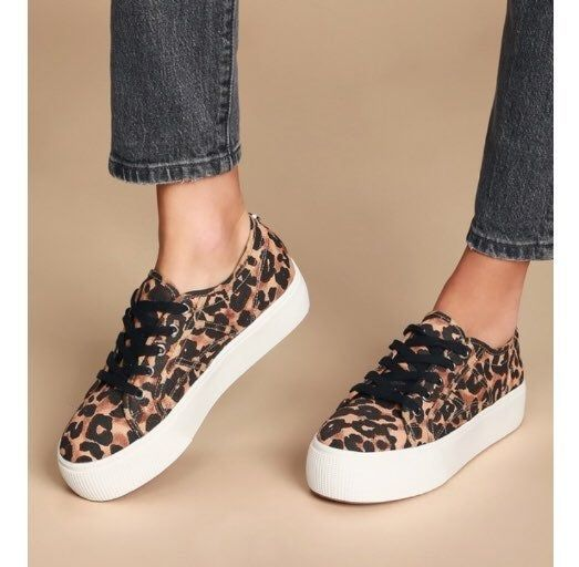 steve madden cheetah print sneakers