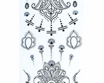Totem de Mandala temporal tatuaje étnico arte por prosciuttojojo