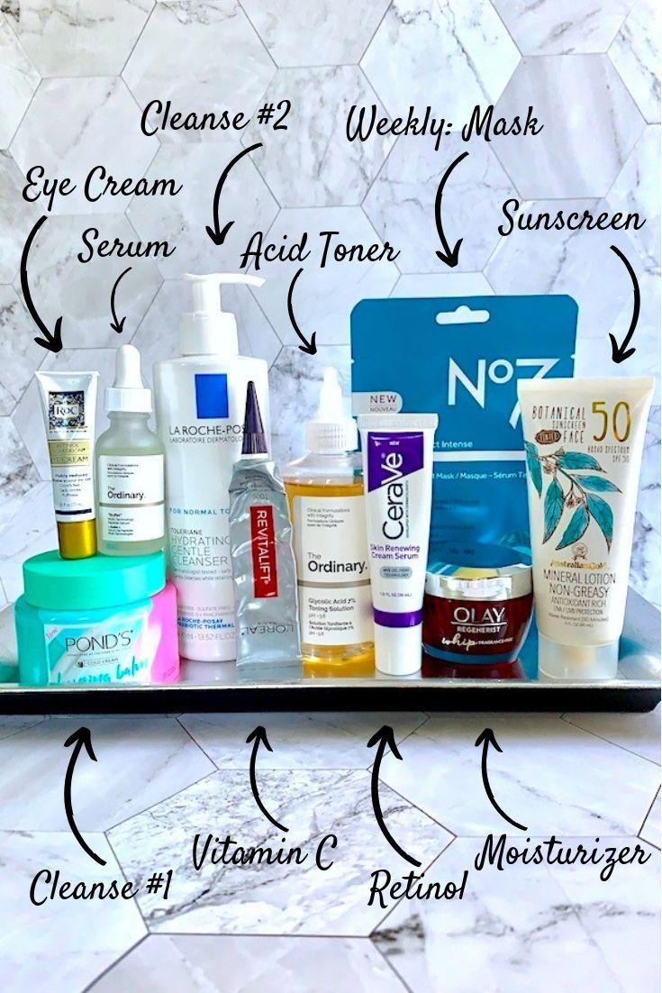 Drugstore Anti Aging Essentials For Your Skincare Routine Dry Skin Care Anti Aging Essential Skin Care Essentials