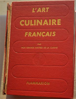 Bible de la cuisine française L'art culinaire français - 1976. La première édition a été publiée en 1959.