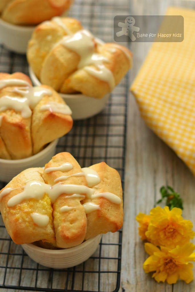 Lemon Scented Pull-Apart Coffee Cake | Pull-Apart / Monkey Bread | Pi ...