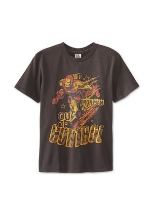 41% OFF Junk Food Kid's Out Of Control Tee (Bkwa)