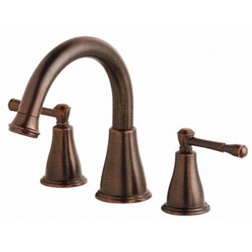 Danze D300915BRT Eastham Tumbled Bronze  Two Handle Roman Tub Faucets |eFaucets.com
