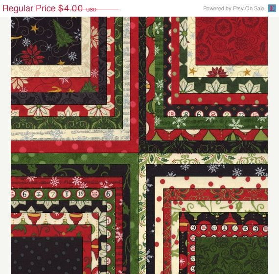Christmas Countdown By Deb Strain For Moda Fabric