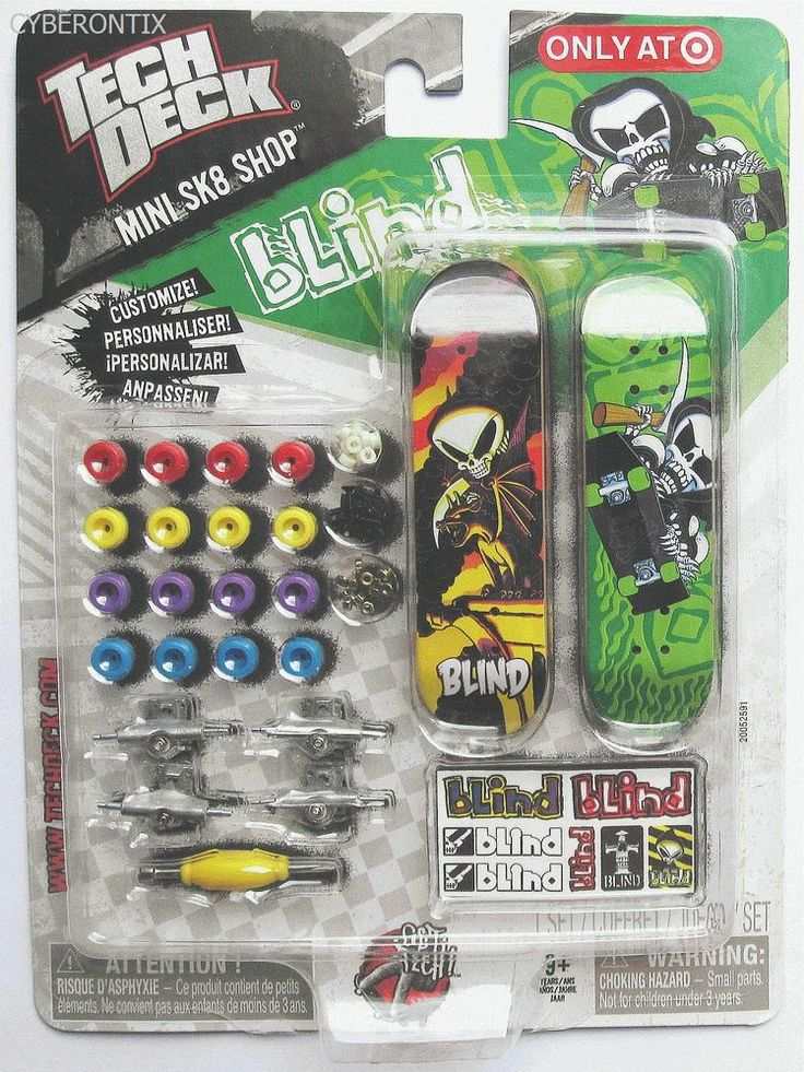 Some newer models at this page:  Tech Deck YOUR CHOICE Target Exclusive 2011 Stereo Enjoi DGK Zero Blind Darkstar