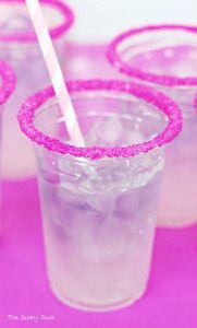Princess Sparkler Party Layered Drink