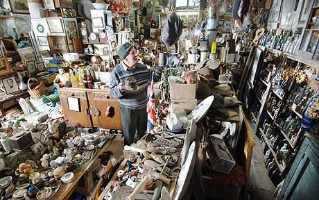 """Resist the temptation to kick start the New Year by clearing the house of clutter - you could miss it."" so says the Telegraph of London. Really, we ask at www.CoronadoMobileStoarge.com"