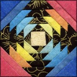 KoolBeenz: Pineapple Plus Quilt Block Tutorial - UPDATE