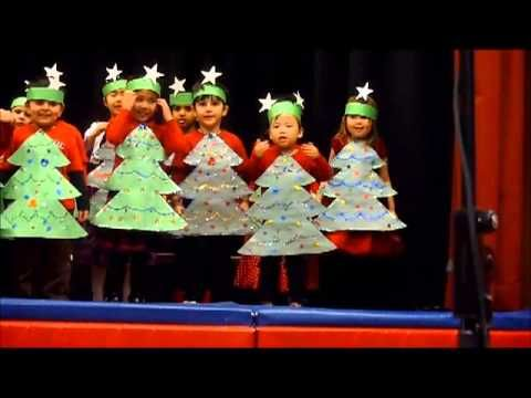 "Ms. B's JK Class Christmas Concert 2012 - ""The Happiest Christmas Tree"""