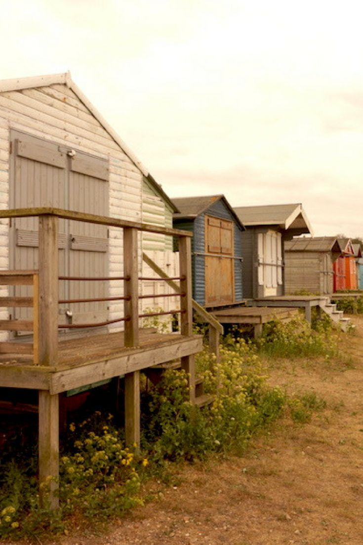 Colourful beach huts on Whitstable Bay, Kent Coast, UK | The Travel Journo