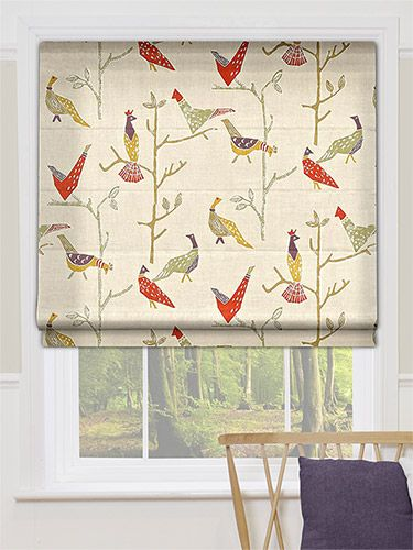 Passaro Natural Roman Blind from Blinds 2go