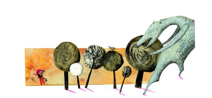 Miguel Tanco ilustra Caperucita Roja, un clásico de la literatura infantil. El artista español crea una Caperucita gitanilla para un libro lleno de color, escrito por Pepe Maestro. Caperucita Roja pertenece a la colección Colorín Colorado, creada por la editorial de literatura infantil y juvenil Edelvives para acercar los cuentos de siempre a los niños de hoy. Cada cuento va acompañado de un CD con la narración de la historia y sonidos de ambiente.