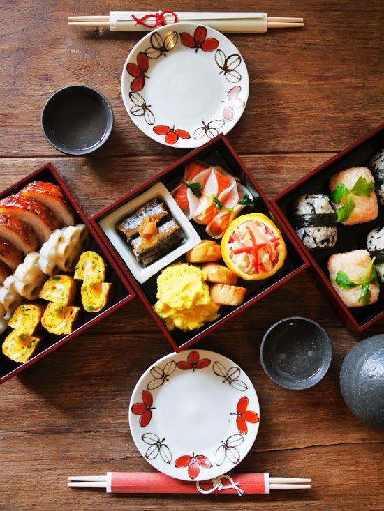 What I ate this morning: 2014/01/01 Osechi ryori