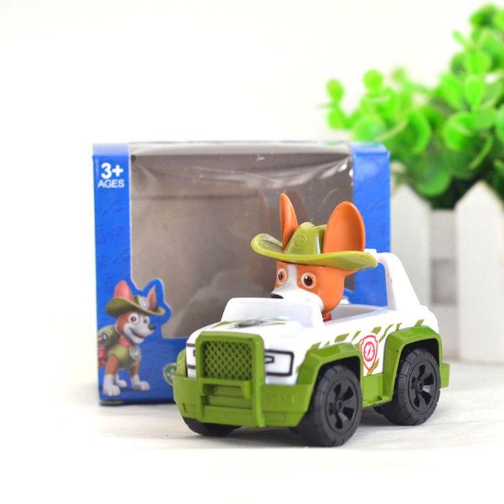 New Car Tracker Zabawki Patrol Puppy dog Patrulla Canina Działania Hiszpania Patrulla Canine Skye Anime figures Pojazd Samochodowy dla dzieci prezent