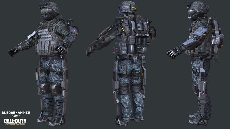 ArtStation - Marine Gear Set, Roderick Weise