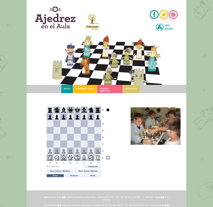 Website'http%3A%2F%2Fwww.ajedrezenelaula.com%2Fjuega.html' snapped on Page2images!