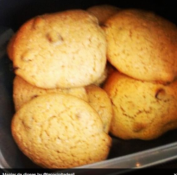 Galletas con cookies de chocolate http://www.lacocinitadealicia.es/cookies-de-chocolate/