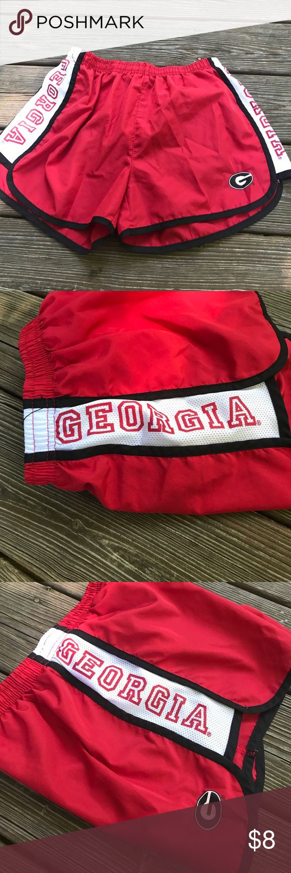 Georgia UGA Bulldogs Running Shorts- Small NOT NIKE- only listed under for exposure. Great condition. Worn once. Nike Shorts