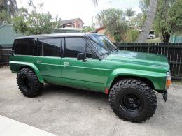 1991 Nissan Patrol Green GQ LWB by jerry http://www.4x4builds.net/1991-nissan-patrol-green-gq-lwb-build-by-jerry
