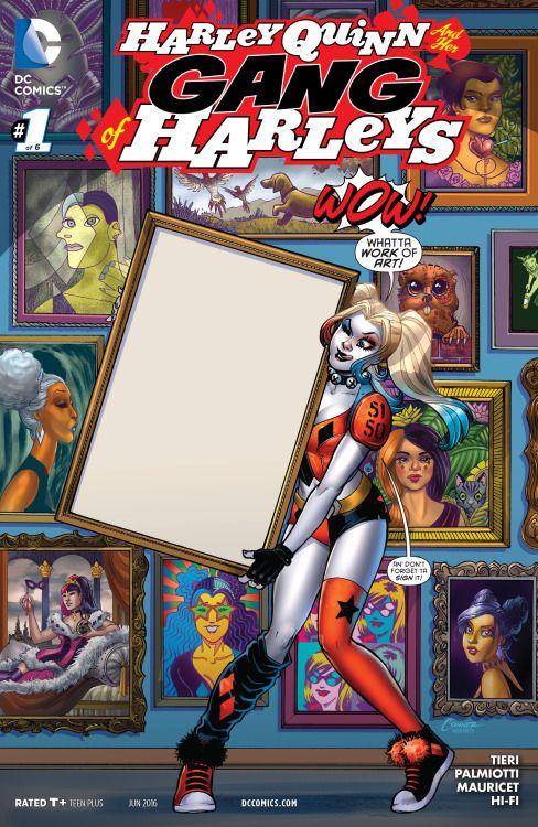 Harley Quinn And Her Gang of Harleys #1 - Amanda Conner