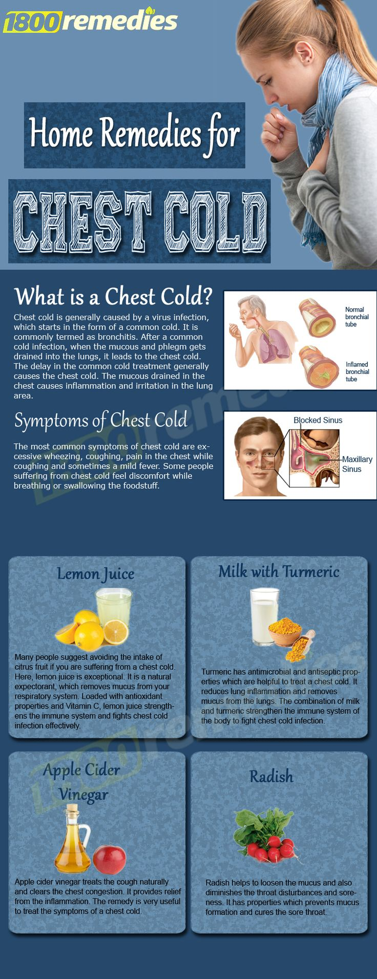 he home remedies for chest cold are easy to use and provide quick results. Let's have a look.                                                                                                                                                     More