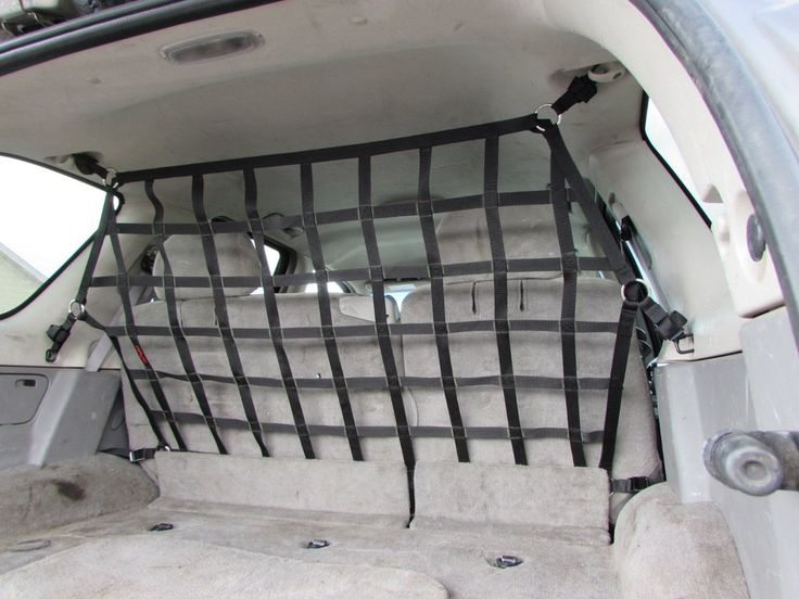 2002 - 2009 GM Envoy, Chevrolet TrailBlazer, Buick Rainier, Oldsmobile Bravada, Isuzu Ascender, Saab 9-7X Behind 2nd Row Seats Raingler Barrier Divider